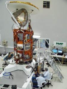 SAC-D/Aquarius Satellite at INVAP